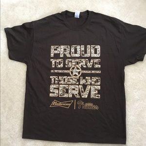 BUDWEISER/PHILLIES shirt